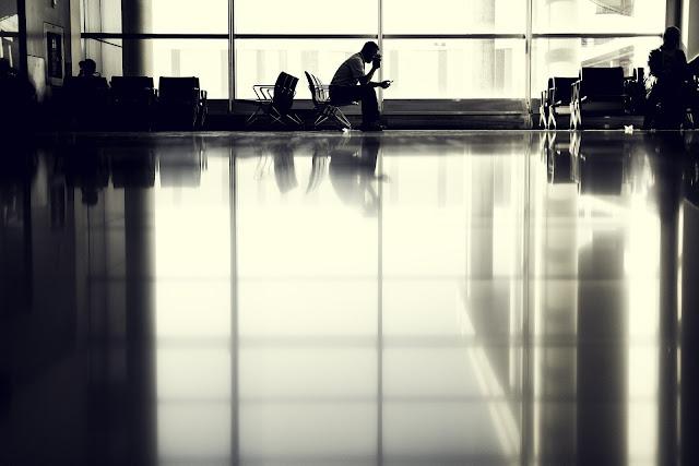 空港 待合室