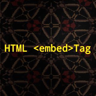 HTML <embed> tag