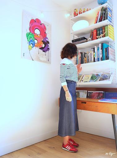 "Ma Jupe-Culotte ""Frida""... (Patron de chez Bertina Paris) par m Gg++"