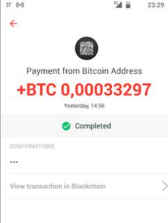 شرح افضل تطبيق لربح البيتكوين Bitcoin مع اتباث السحب