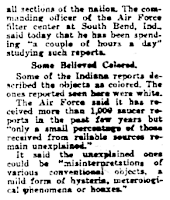 Jets Ordered To Hunt Down Flying Saucers (-cont) - Daily News 7-28-1952