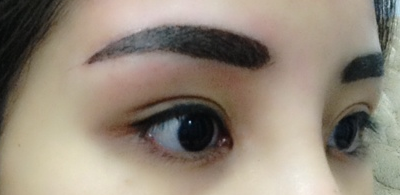 during process review korean brows