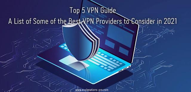Top 5 VPN Guide