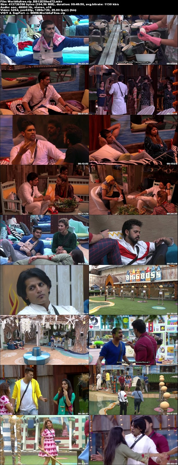 Bigg Boss 12 Episode 50 05 November 2018 720p WEBRip 400Mb x264 world4ufree.vip tv show Episode 50 05 november 2018 world4ufree.vip 300mb 250mb 300mb compressed small size free download or watch online at world4ufree.vip