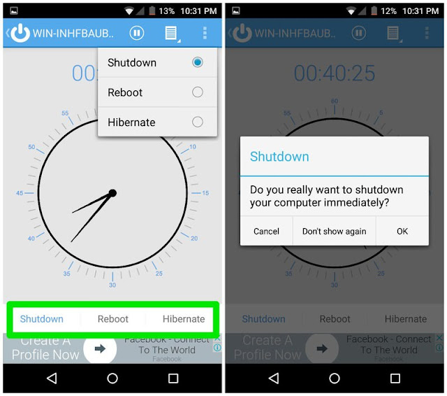 كيفية تشغيل وايقاف تشغيل الكمبيوتر باستخدام هاتف Android