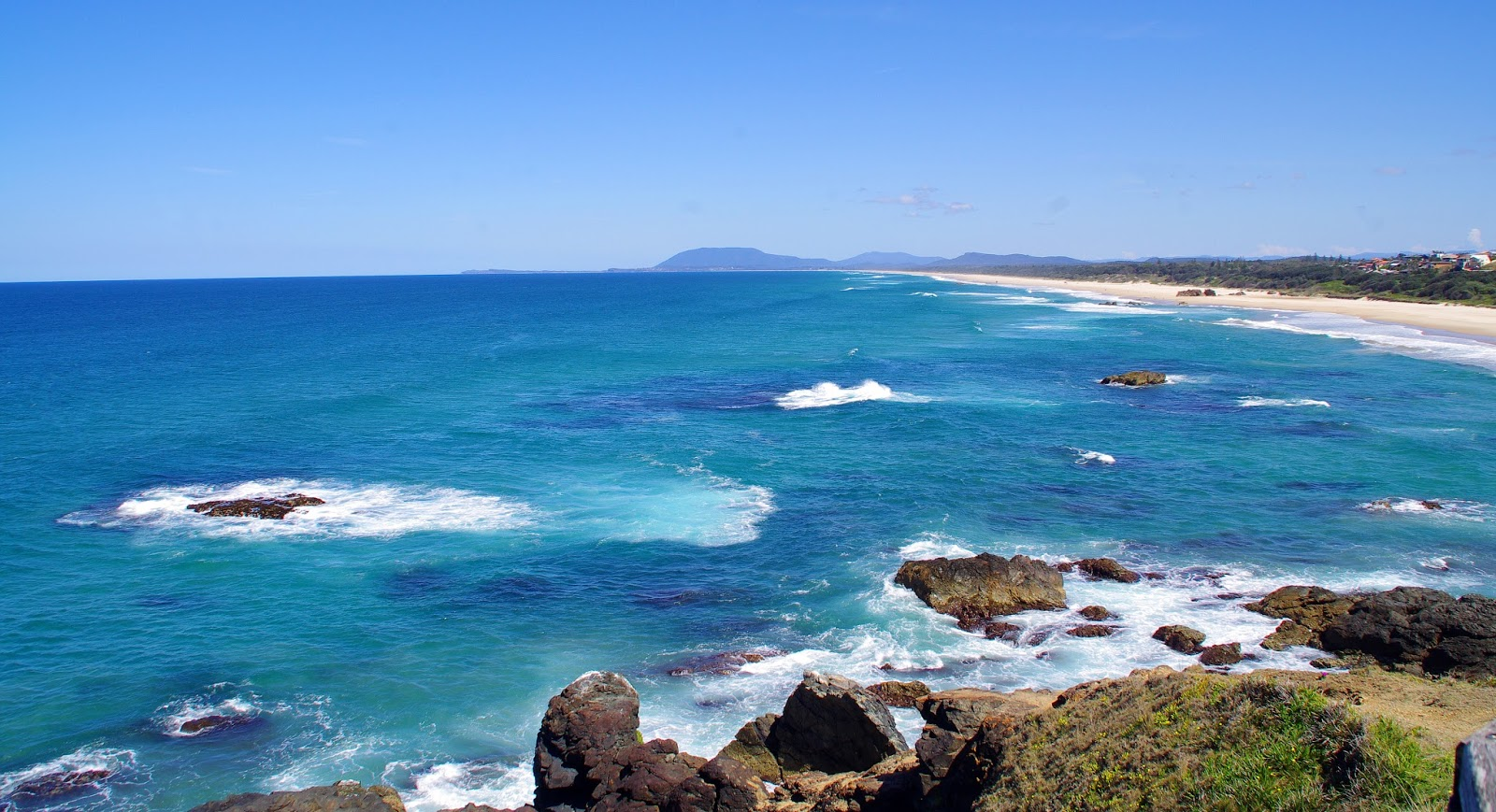 blue sea from port macquarie