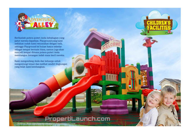 Children Facilites Paradise Serpong City