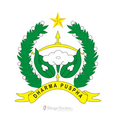 Korps Wanita Angkatan Darat Logo Vector