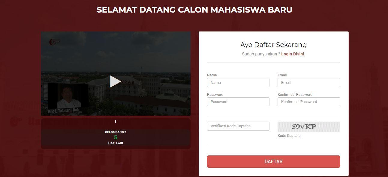Dapat Diskon 15 Persen, Ini Alur dan Cara Pendaftaran Online di Universitas Abdurrab Pekanbaru