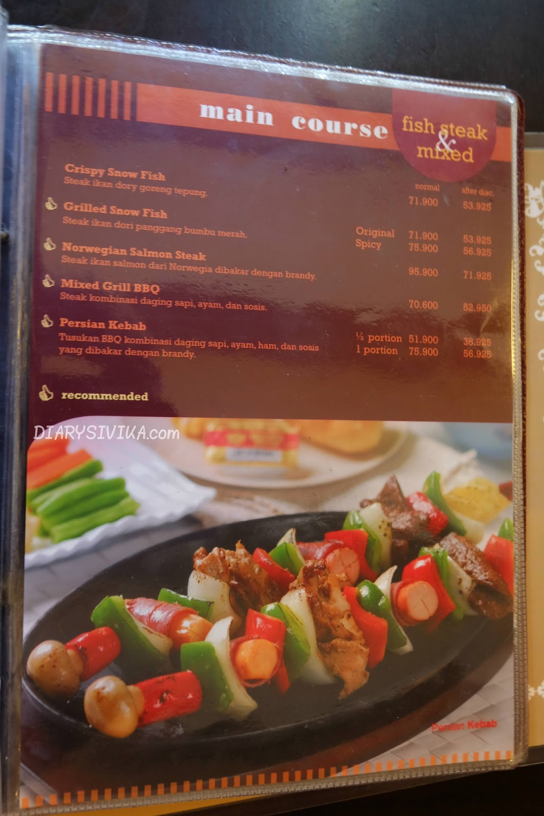 Steak Hut Surabaya  DiarySivika  Food Travel and