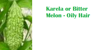 Health Benefits Of Karela or Bitter Melon - Oily Hair