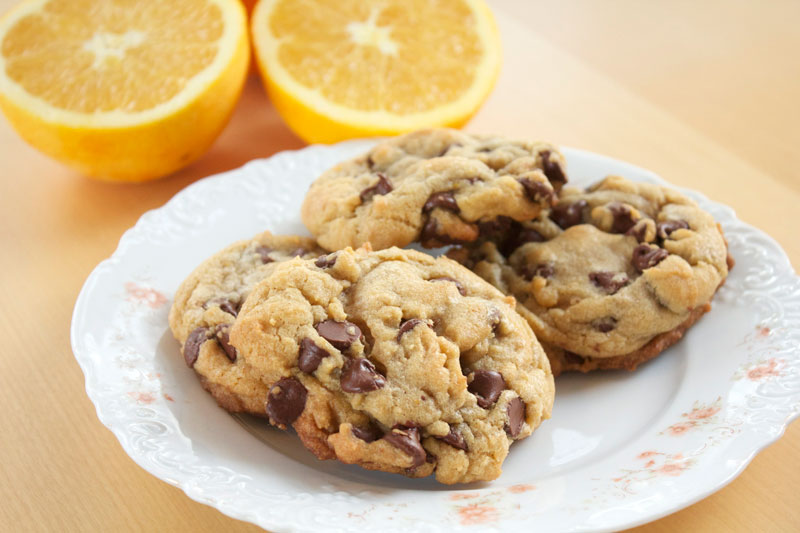 Orange Chocolate Chip Cookies || A Less Processed Life