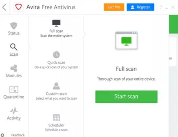 Avira Antivirus Download