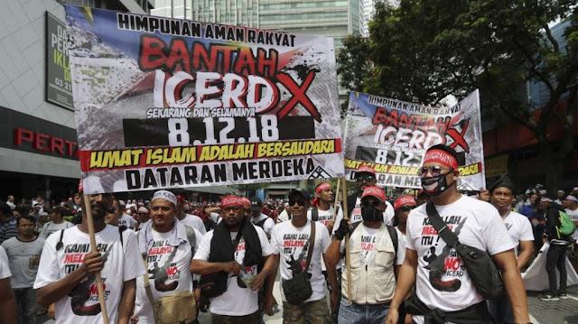 Pemerintah Malaysia Gagal Jelaskan ICERD sehingga Dicap Antimuslim