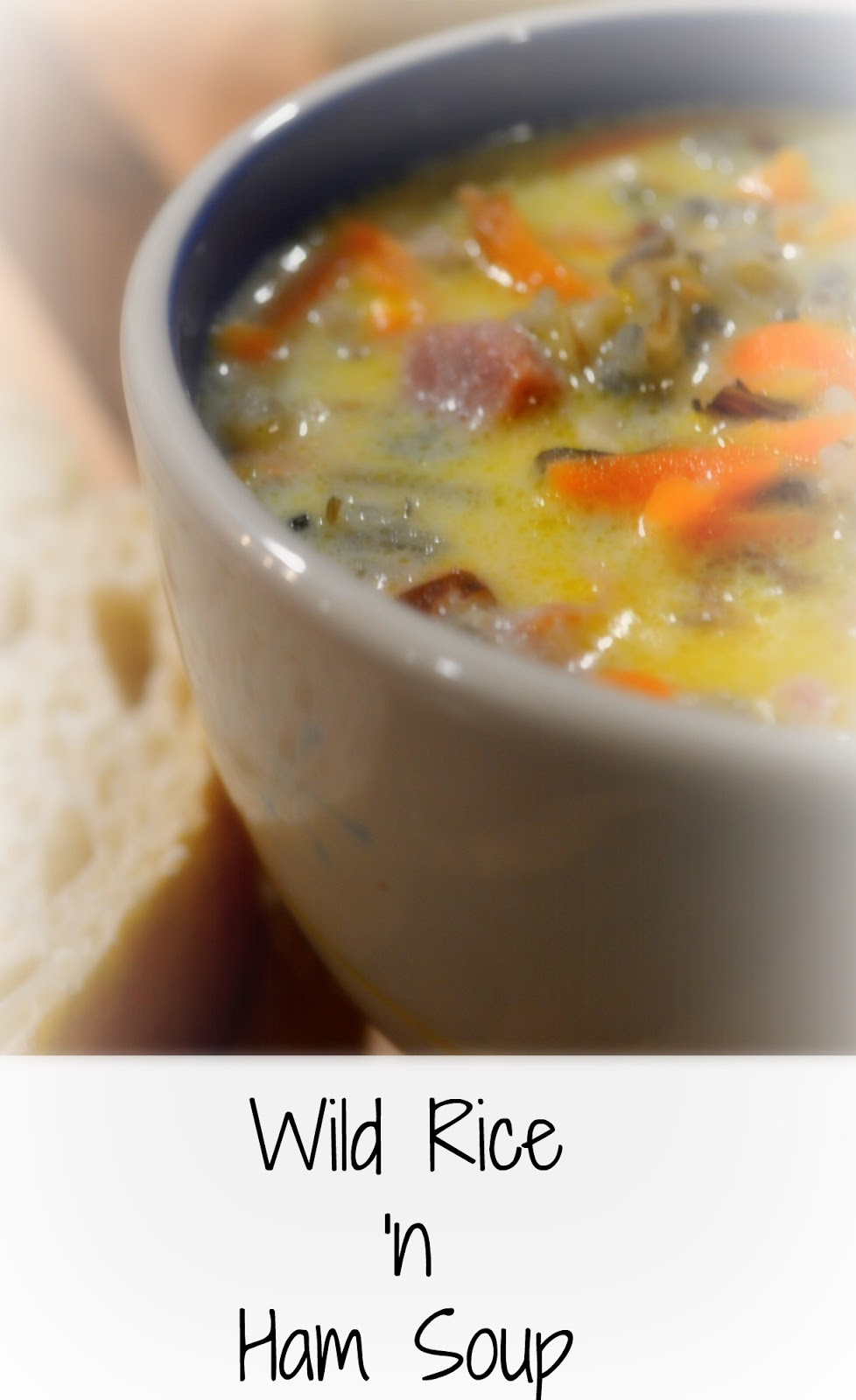 Big Rigs 'n Lil' Cookies: Wild Rice 'n Ham Soup
