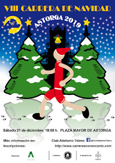 Carrera de Navidad Astorga 2019