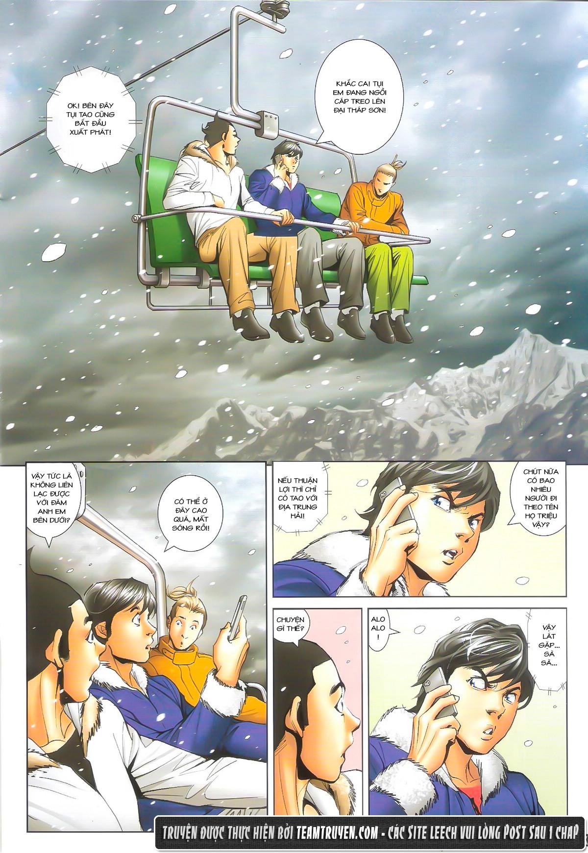 Người Trong Giang Hồ chapter 1612: thần nhân tương ngộ trang 21