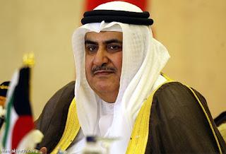 وزير الخارجية البحريني , حراك 15 سبتمر