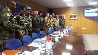 FC Unifil Gelar Pertemuan dengan Komandan Kontingen Misi Perdamaian Lebanon