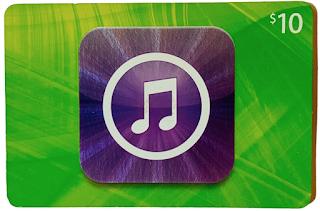 Tarjeta iTunes gift card