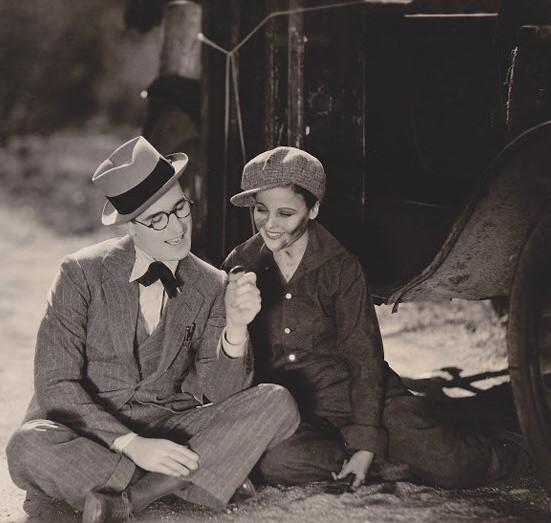 1929. Harold Lloyd, Barbara Kent - Welcome danger