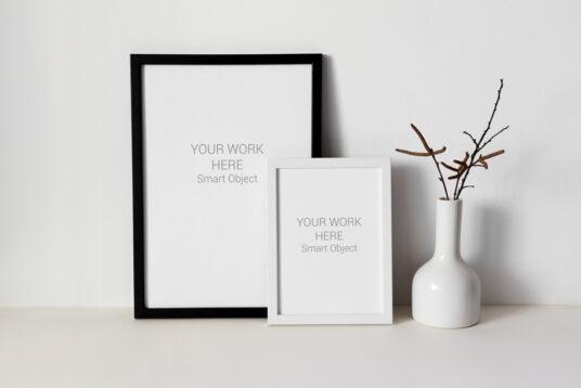 2 Frame Mockup || FreeBox