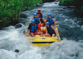 Rekomendasi 7 Tempat Wisata Rafting Di Bali