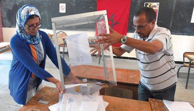 Participación por los suelos al cierre de urnas en Marruecos.