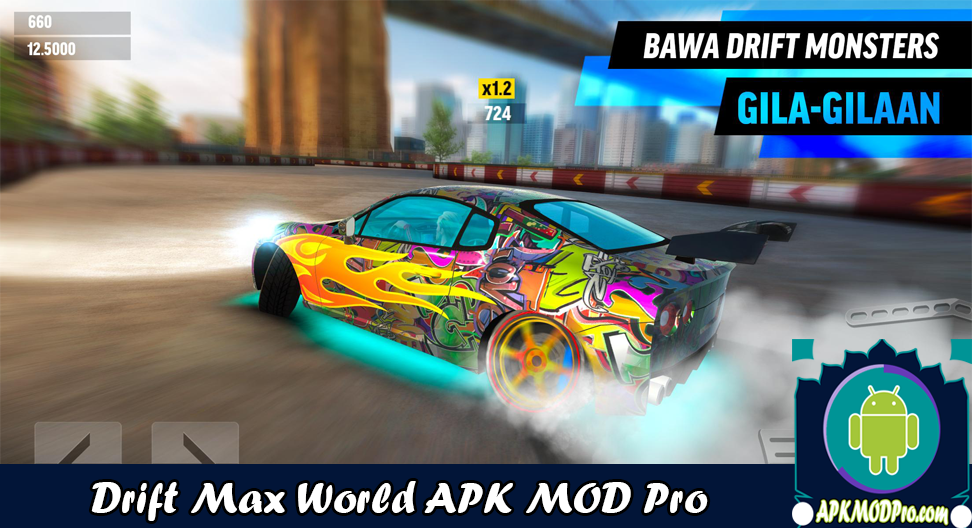 Download Drift Max World MOD APK v1.77 (Unlimited Money) Latest 2020