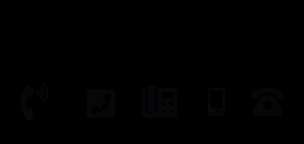 simbol telepon