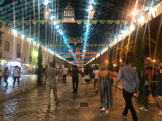 Fiesta de los Santos Populares en el Algarve