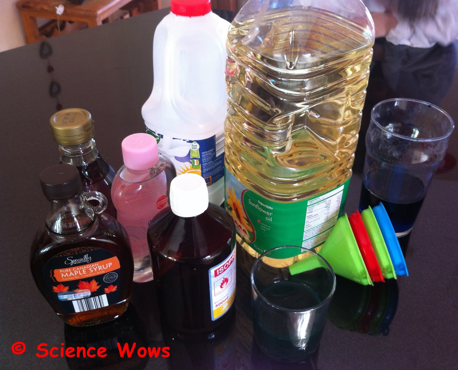 Fun Friday - Exploring Density - Dr  How's Science Wows