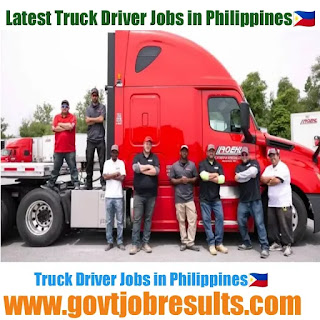 Truck Driver jobs in Philippines 2020