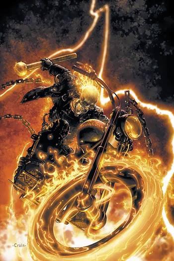 Ghost Rider es uno de los mejores superhéroes Marvel