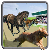 Wild Animal Racing 2020 : Dog Racing fever Apk Download