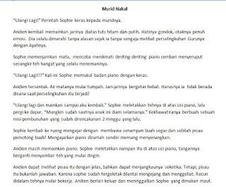 Contoh Flash Fiction Genre Thriller : Murid Nakal