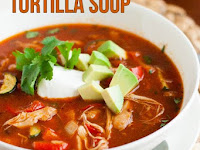 The Best Gluten-Free Heálthy Chicken Tortillá Soup Recipe {Cleán Eáting, Dáiry-Free}