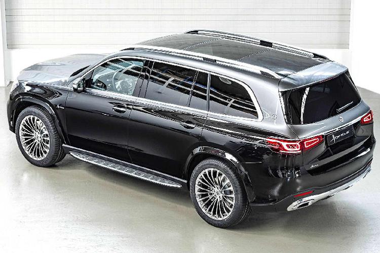 Cận cảnh Mercedes GLS 2020 'biến hình' thành Maybach G600