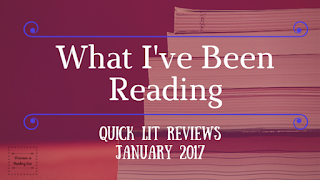 What I've been reading January 2017 edition