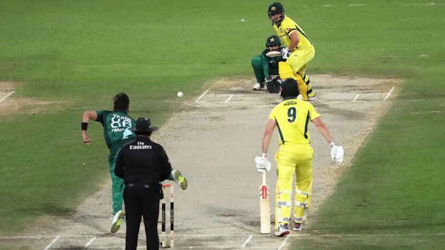Aaron Finch took the attack to Yasir Shah @ABOCricinfo