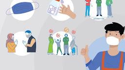 Memperhatikan Protokol Kesehatan Saat Pandemi Covid-19