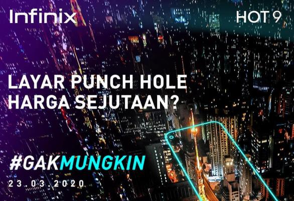 Infinix Hot 9 Empat Kamera Bakal meluncur Dengan Banderol 1 Jutaan