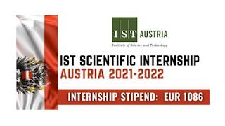 IST Scientific Internship Austria 2021-2022
