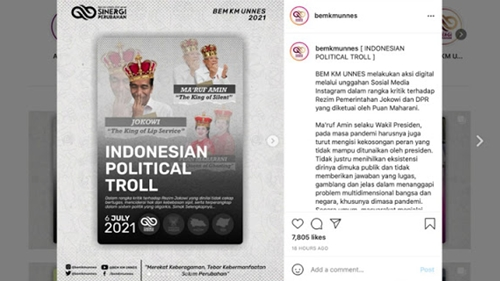 """Setelah Jokowi, Maruf Amin Juga Dijuluki Mahasiswa Sebagai """"The King Of Silent"""""""