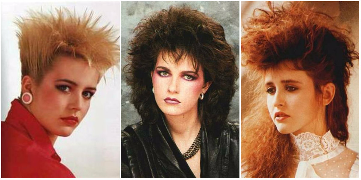 1980s: The Period Of Women's Rock Hairstyles Boom