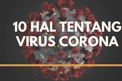10 HAL TENTANG VIRUS CORONA YANG HARUS ANDA KETAHUI