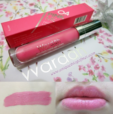 wardah exclusive matte Lipstick 04 Review #WardahXClozetteIDReview