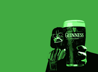 st. patricks day with Guinnes beer  wallpaper background