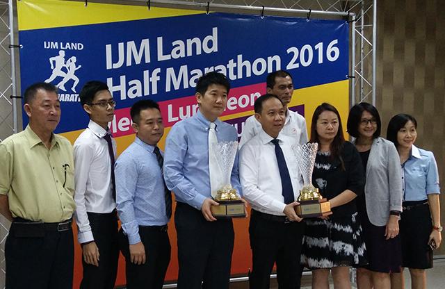 IJM Land Half Marathon 2016   Challenge Trophy Untuk Pelari Terpantas