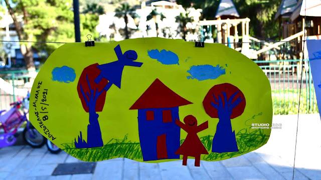 Έκθεση ζωγραφικής από καλλιτέχνες προσχολικής και νηπιακής ηλικίας στο Ναύπλιο (βίντεο)